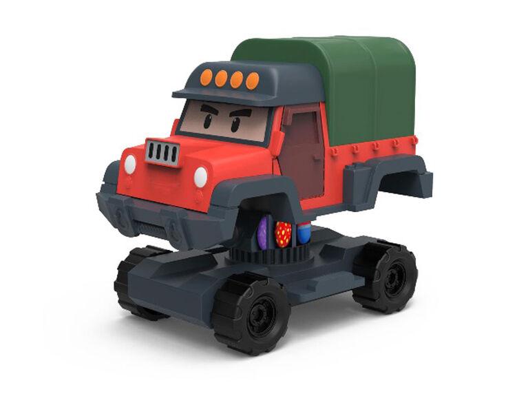 Robocar Poli - Robot transformable Poacher
