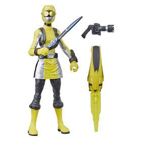 Power Rangers Beast Morphers - Figurine jouet de 15 cm Ranger jaune