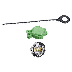 Beyblade Burst Turbo Slingshock Starter Pack Forneus F4 Top and Launcher