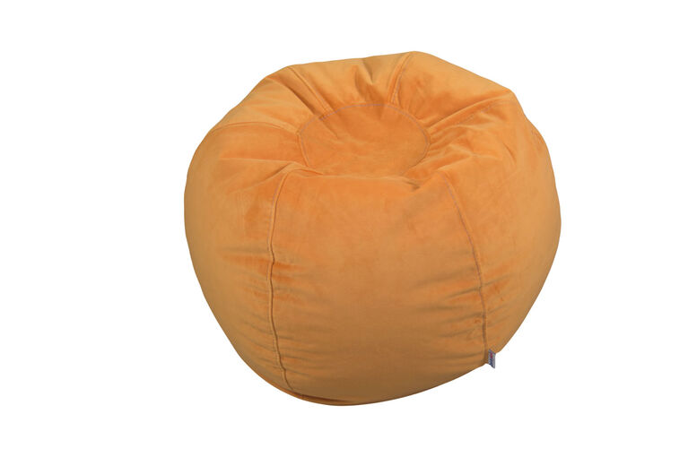 Fauteuil poire pour ado de Comfy Kids - Orange