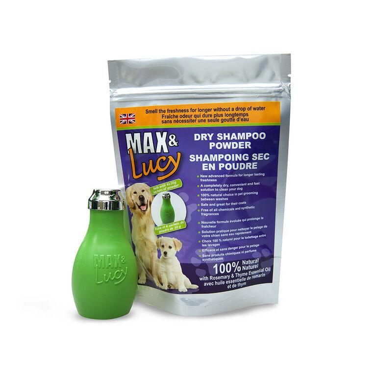 Max & Lucy Dry Dog Shampoo Bulb, 4 x 50g sachets - Rosemary & Thyme