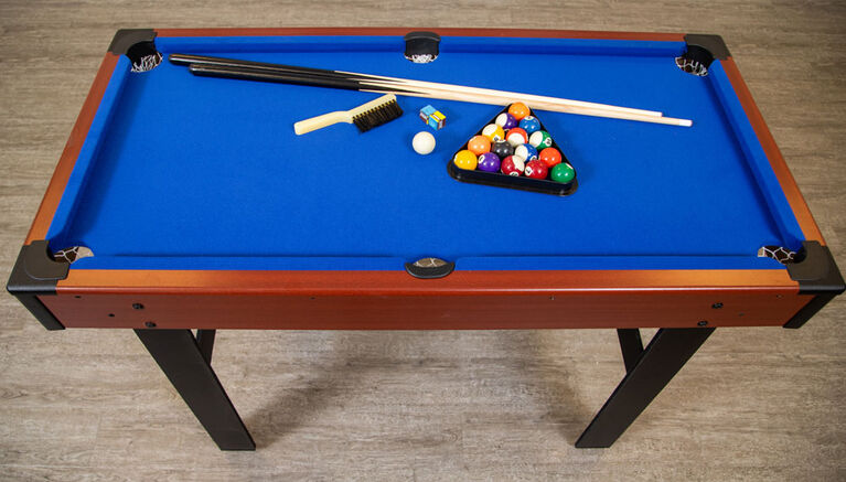 Triad 3-In-1 48 Inch Multi Game Table with Pool, Glide Hockey, and Table Tennis
