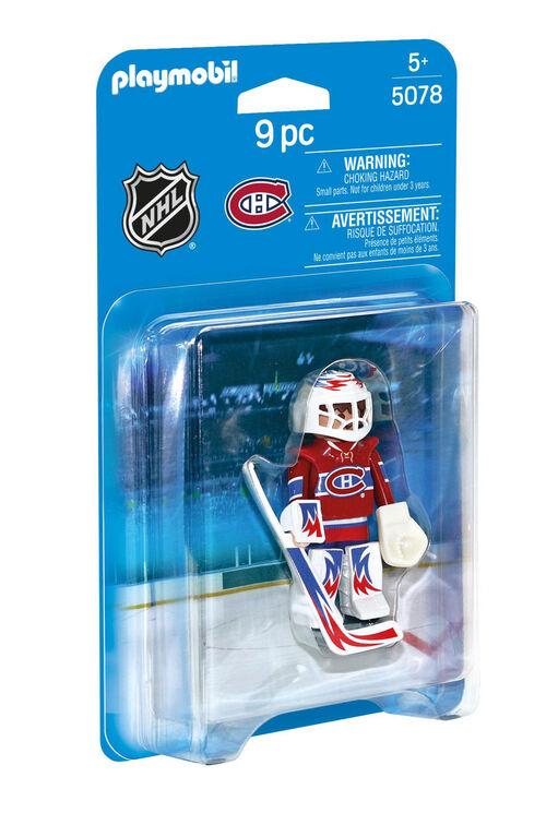 Playmobil - LHN Gardien de but des Canadiens de Montréal