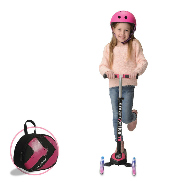 smarTrike T5 2 Stage scooTer - Pink