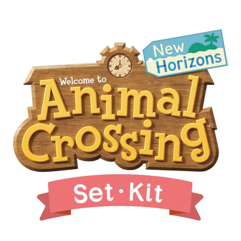 Aquabeads Animal Crossing: New Horizons Kit complet d'art et d'artisanat pour enfants - plus de 870 perles pour créer vos villageois préférés!