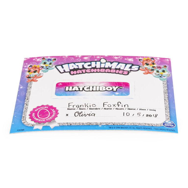 Hatchimals HatchiBabies - Foxfin - Exclusive - R Exclusive
