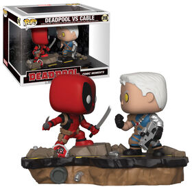 Funko POP! Movie Moments: Deadpool - Deadpool vs Cable Vinyl Figure