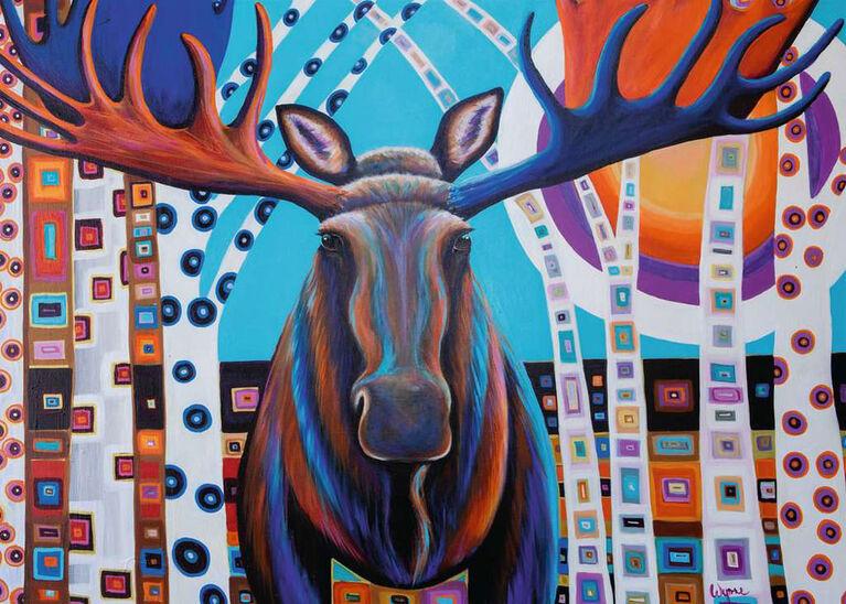 Ravensburger - Winter Moose Puzzle 1000pc