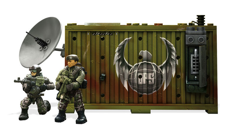 Mega Construx Call of Duty Jungle Satcom Armory Building Set