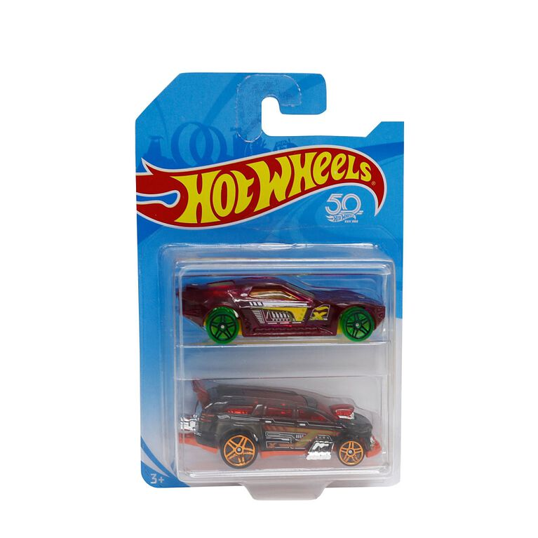 _Hot Wheels Race Ready 2-Pack - Styles May Vary