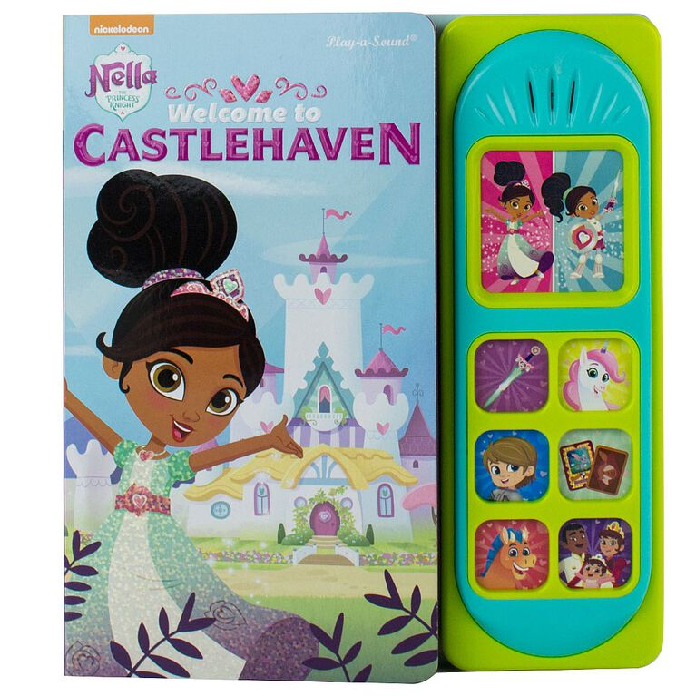 Nickelodeon Princess Nella Little Sound Book: Welcome to Castlehaven.