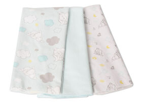 Disney Baby 3 Pack Receiving Blankets- Dumbo