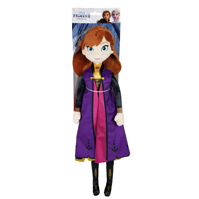 Disney Frozen II Grand Peluche - Anna - R Exclusif