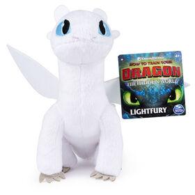 How To Train Your Dragon, Lightfury 8-inch Premium Plush Dragon