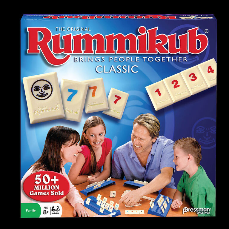 Pressman: The Original Rummikub Game - English Edition