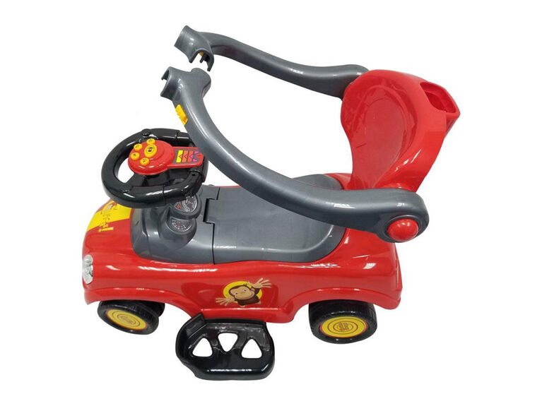 Curious George Push Car