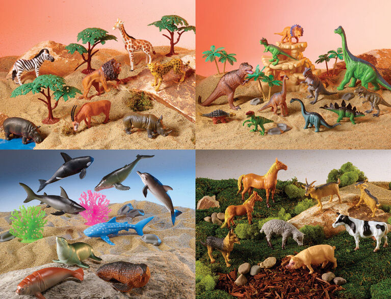 Animal Planet - Animal World Mega Bag Playset - R Exclusive