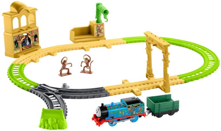 Fisher-Price - Thomas et ses amis - TrackMaster - Coffret Palais des singes