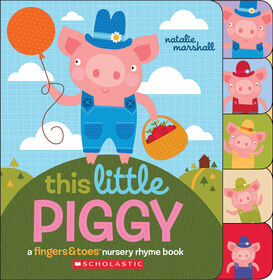 This Little Piggy Nursery Rhyme Book