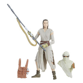 Star Wars Collection Vintage – Figurine Rey (Jakku) de 9,5 cm.
