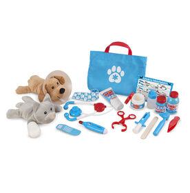 Examine & Treat Pet Vet Play Set - English Edition
