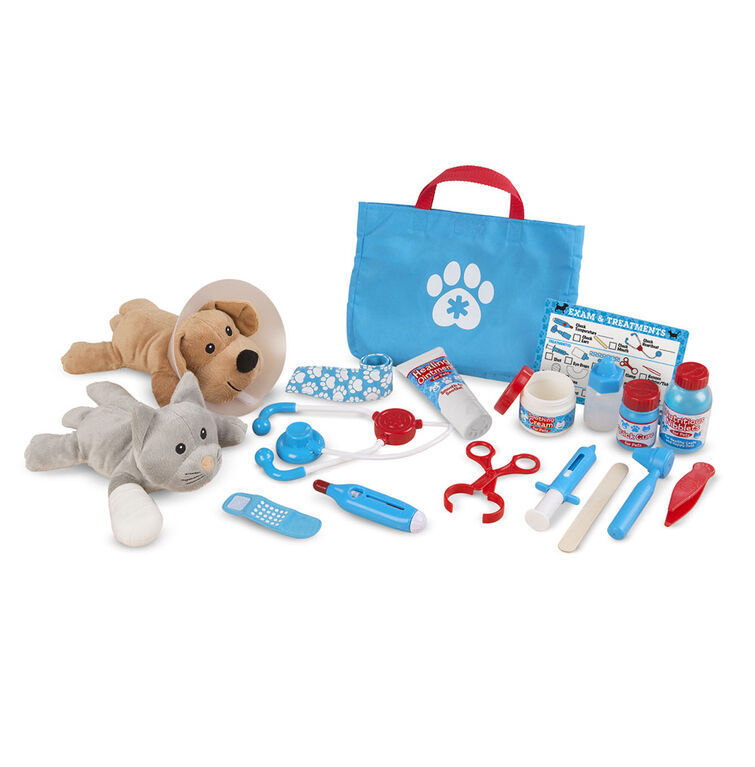 Examine & Treat Pet Vet Play Set - English Edition