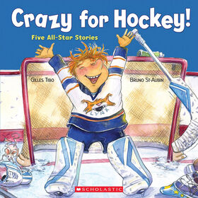 Crazy for Hockey!: Five-All Star Stories - English Edition