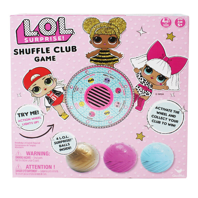 L.O.L. Surprise! Shuffle Club Game - English Edition