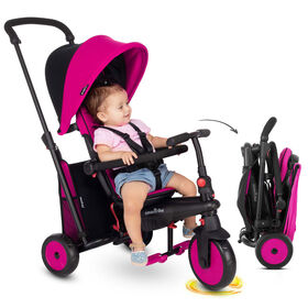 smarTrike STR3 - 6 Stage Folding Stroller Certified Trike - Pink - Toys R Us Exclusive