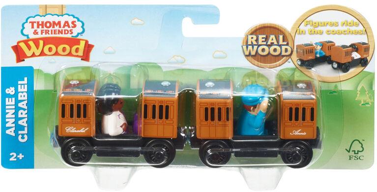 Thomas et ses amis - Bois - Annie et Clarabel