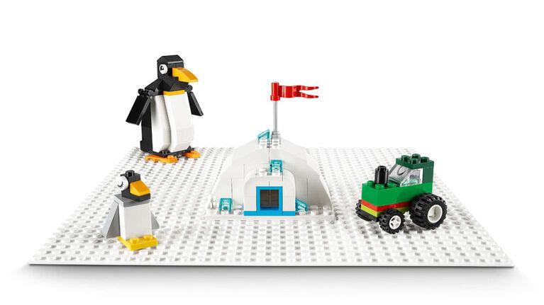LEGO Classic La plaque de base blanche 11010