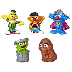 Sesame Street - Ensemble classique de collection Amis du quartier