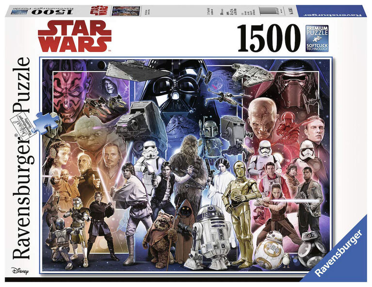 Ravensburger: Star Wars Universe Jigsaw Puzzle 1500 Piece
