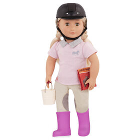 Our Generation, Tamera, 18-inch Posable Equestrian Doll