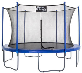 """Upper Bounce 12 FT. Trampoline & Enclosure Set equipped with the New """"EASY ASSEMBLE FEATURE"""""""