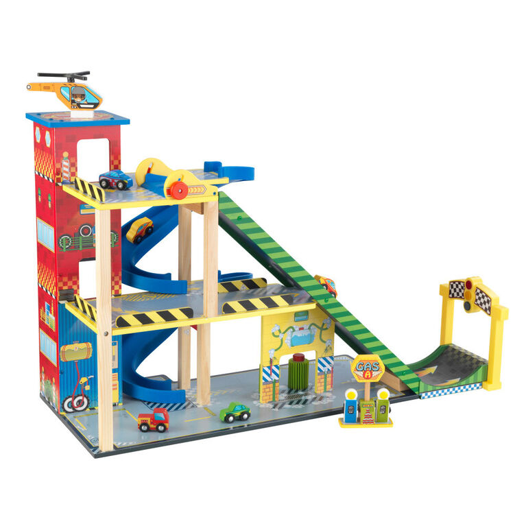 KidKraft - Mega Ramp Racing Set
