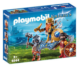 Playmobil - Dwarf King with Guards