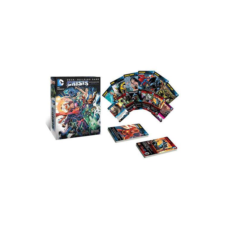 DC Comics Deck Building Game: Crisis Expansion (Pack 1)