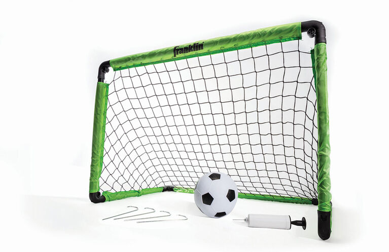 """Franklin Sports 36"""" Soccer Goal with Ball and Pump"""