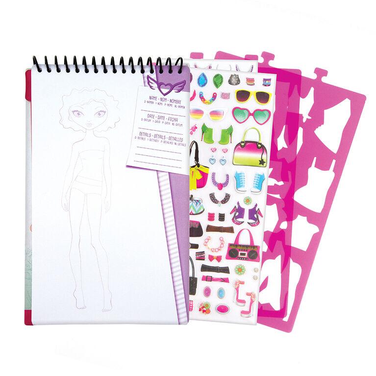 Compact Sketch Portfolio Assortment