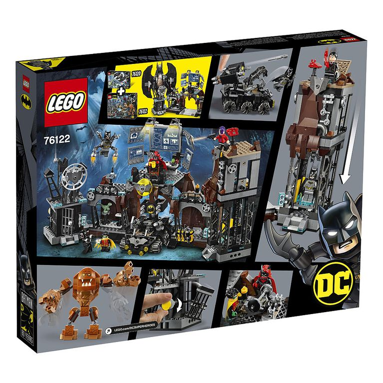 LEGO Super Heroes Batcave Clayface Invasion 76122