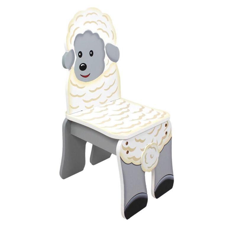 Fantasy Fields - Chaise « La ferme du bonheur » - mouton