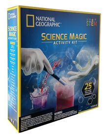 National Geographic Kit D'Activites Science Magic