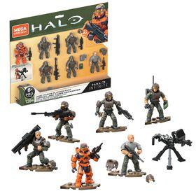 Mega Construx Halo UNSC Marine Platoon Pack