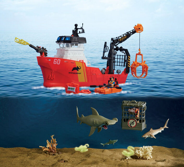 Animal Planet - Deep Sea Shark Research Playset - R Exclusive