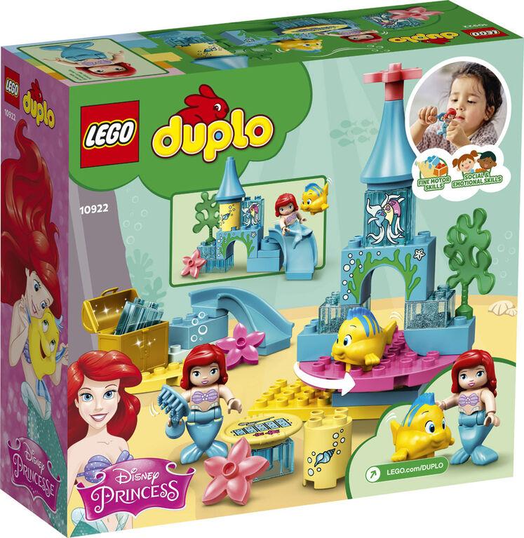 LEGO DUPLO Princess Le château sous la mer d'Ariel 10922