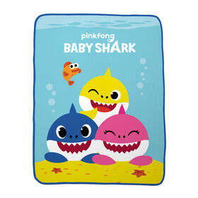 "Baby Shark ""Shark Friends"" Throw"