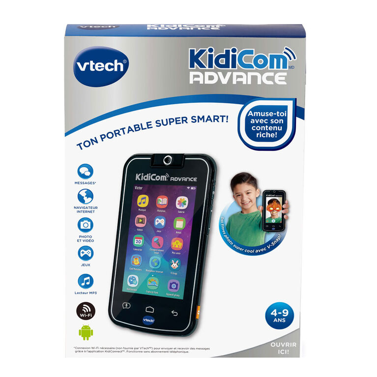 VTech KidiBuzz G2 - Black - French Edition