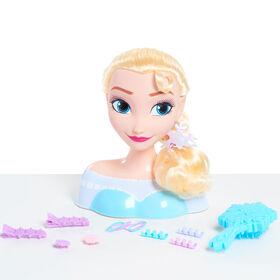Tête de Coiffure d'Elsa de La Reine des Neiges de Disney