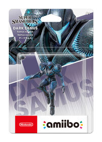 Amiibo-Dark Samus-Super Smash Bro Series